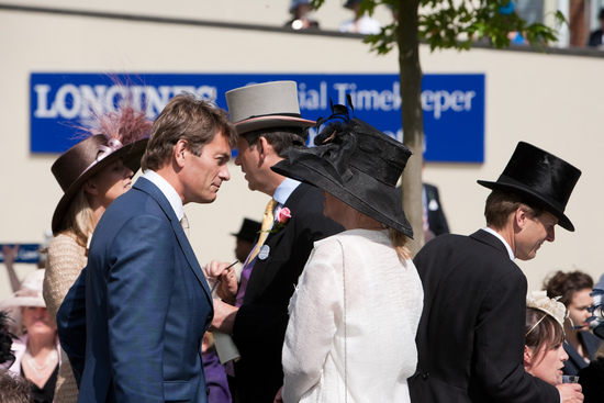 Longines Flat Racing Event: The Asian star Chi Ling Lin discovers the prestigious glamour of Royal Ascot 8