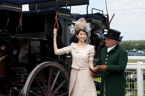 Longines Flat Racing Event: The Asian star Chi Ling Lin discovers the prestigious glamour of Royal Ascot 10