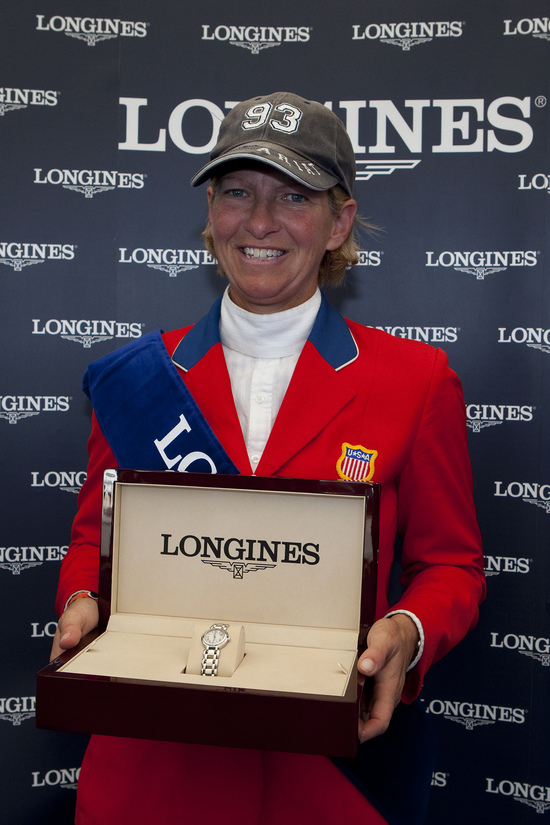 Longines Show Jumping Event: The winners of the 2010 Longines Press Award for Elegance 5