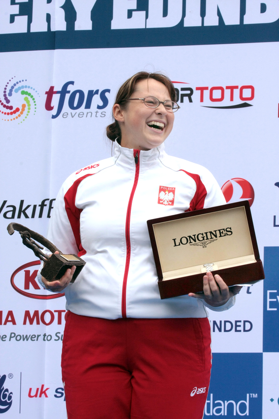 Longines Archery Event: The winners of the 2010 Longines Prize for Precision for archery 2