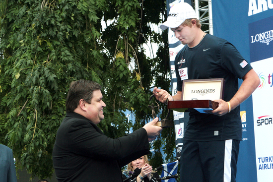Longines Archery Event: The winners of the 2010 Longines Prize for Precision for archery 4
