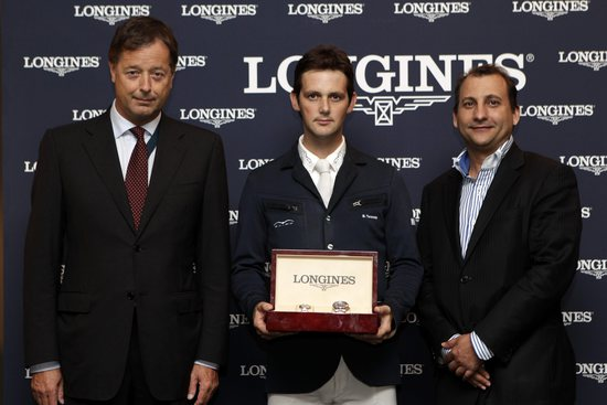 Longines Show Jumping Event: Billy Twomey, wins the Longines Grand Prix of the CSIO Barcelona 2010 1