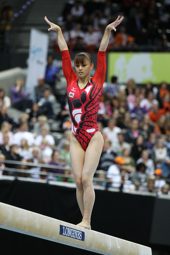 Longines Gymnastics Event: Rie Tanaka and Philipp Boy win the Longines Prize for Elegance 2010 in Rotterdam 1