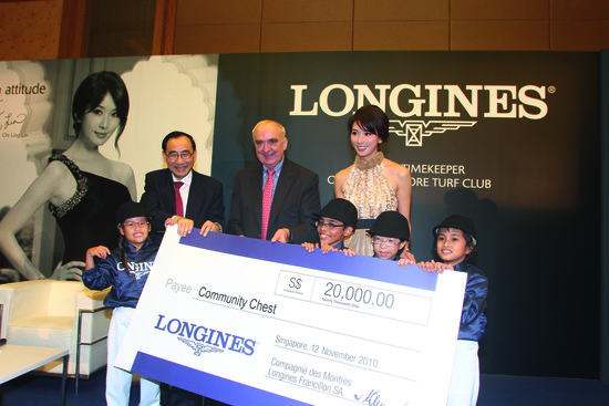 Longines Flat Racing Event: Longines Opens its 3rd Flagship Boutique and announces its new partnership with the Singapore Turf Club 4