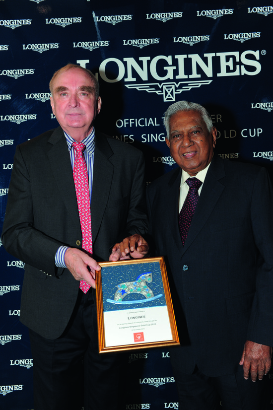 Longines Flat Racing Event: Longines embarks on landmark partnership with the Singapore Turf Club and launches the Longines Singapore Gold Cup 4