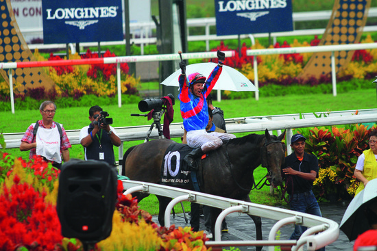 Longines Flat Racing Event: Longines embarks on landmark partnership with the Singapore Turf Club and launches the Longines Singapore Gold Cup 6