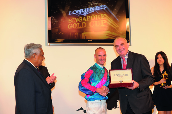 Longines Flat Racing Event: Longines embarks on landmark partnership with the Singapore Turf Club and launches the Longines Singapore Gold Cup 8