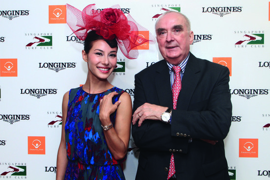 Longines Flat Racing Event: Longines embarks on landmark partnership with the Singapore Turf Club and launches the Longines Singapore Gold Cup 9