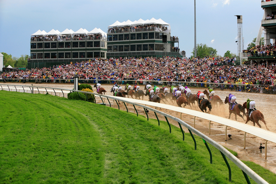 Longines Flat Racing Event: THE SWISS WATCH BRAND LONGINES PARTNERS WITH CHURCHILL DOWNS INCORPORATED AS 'OFFICIAL TIMEKEEPER' OF KENTUCKY DERBY®, HOME TRACK 4