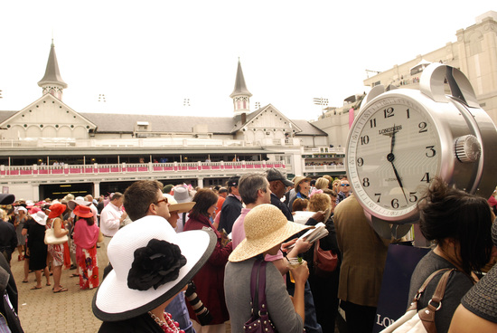 Longines Flat Racing Event: LONGINES WATCHES PRESENTED TO OWNER, TRAINER AND JOCKEY OF KENTUCKY DERBY WINNER 3