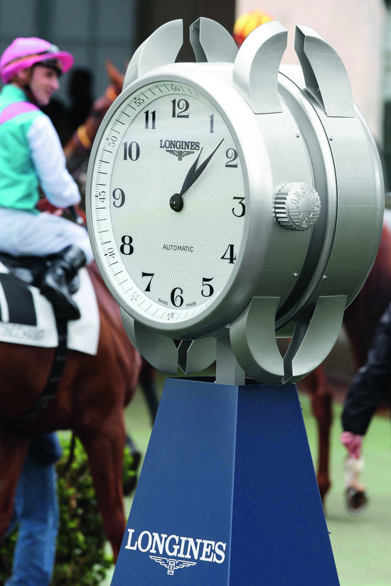 Longines Flat Racing Event: Longines and the Prix de Diane promoting the art of elegance 4