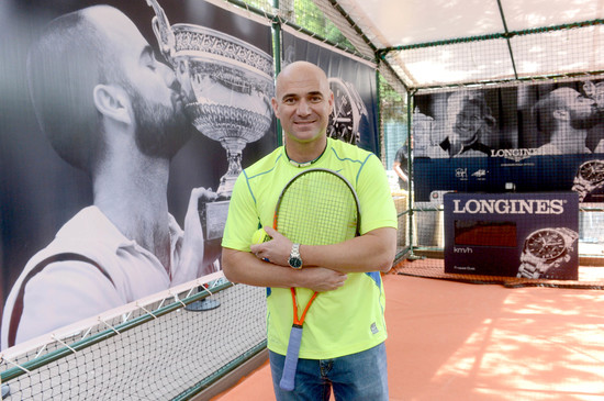 Longines Corporate Event: Longines Ambassador of Elegance Andre Agassi in Paris this weekend 5