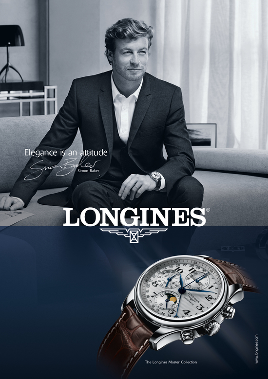 Longines Corporate Event: Simon Baker is the epitome of elegance in the new Longines advertising campaign 5