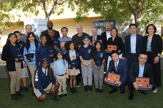 Longines Corporate Event: Longines Ambassador of Elegance Andre Agassi opens the doors of his campus in Las Vegas to generous donors 5