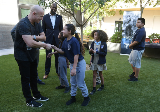 Longines Corporate Event: Longines Ambassador of Elegance Andre Agassi opens the doors of his campus in Las Vegas to generous donors 2