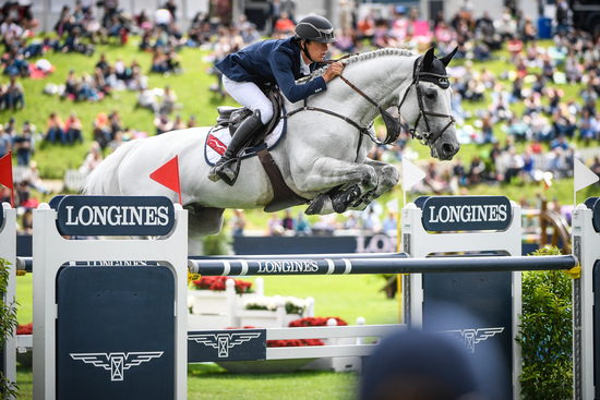 "Longines Equestrian Event: Bertram Allen (Ireland) is the winner of the ""Longines Grand Prix der Schweiz"" in St. Gallen 1"