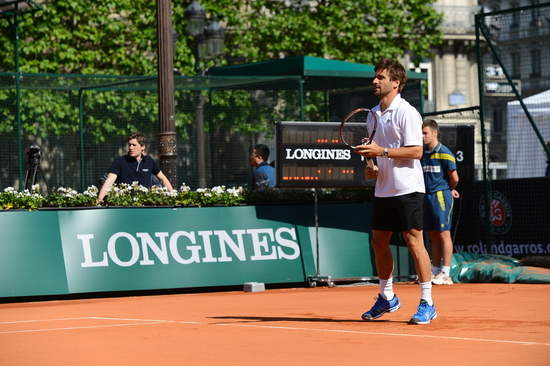 Longines  Event: Longines Future Tennis Aces 2015: a meeting of talented young players in the heart of Paris 4