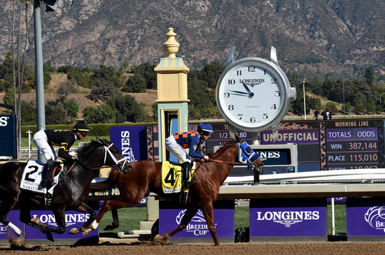 Longines Flat Racing Event: Longines timed the 36th Breeders' Cup World Championships 1