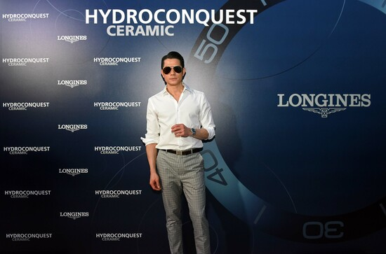 Longines Corporate Event: Longines dives into the HydroConquest universe during a special event in Singapore attended by Aaron Kwok 12