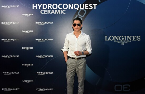 Longines Corporate Event: Longines dives into the HydroConquest universe during a special event in Singapore attended by Aaron Kwok 13