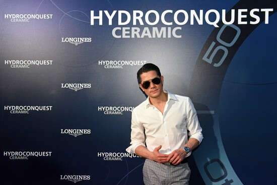 Longines Corporate Event: Longines dives into the HydroConquest universe during a special event in Singapore attended by Aaron Kwok 10