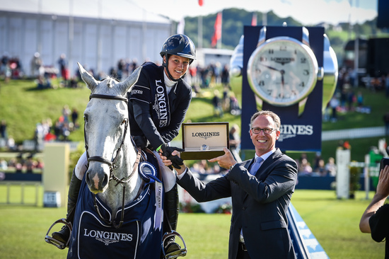 "Longines Equestrian Event: Bertram Allen (Ireland) is the winner of the ""Longines Grand Prix der Schweiz"" in St. Gallen 4"