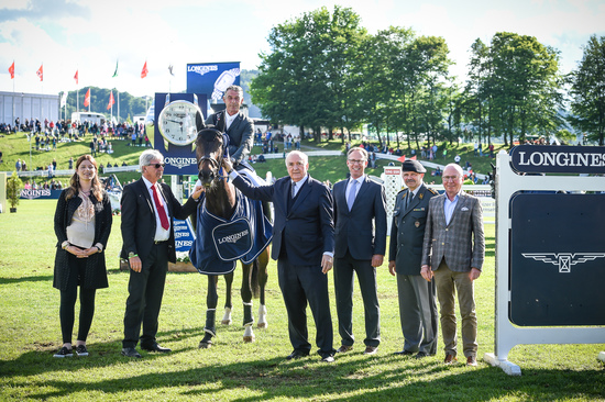 "Longines Equestrian Event: Bertram Allen (Ireland) is the winner of the ""Longines Grand Prix der Schweiz"" in St. Gallen 3"