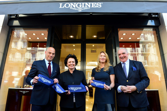 Longines Corporate Event: Longines officially inaugurates its first monobrand boutique in France in presence of Ambassador of Elegance Stefanie Graf 7