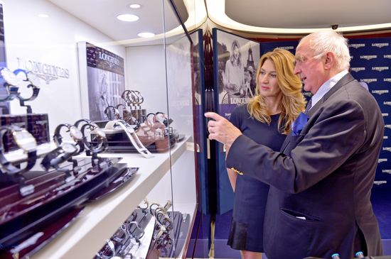 Longines Corporate Event: Longines officially inaugurates its first monobrand boutique in France in presence of Ambassador of Elegance Stefanie Graf 1