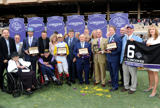 Longines Flat Racing Event: Swiss Watch Brand Longines Times 2017 Breeders' Cup World Championships at Del Mar 3