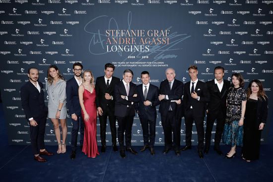 Longines Corporate Event: Longines unveils two exclusive Conquest V.H.P. models to mark ten years of its partnership with  Stefanie Graf and Andre Agassi 8