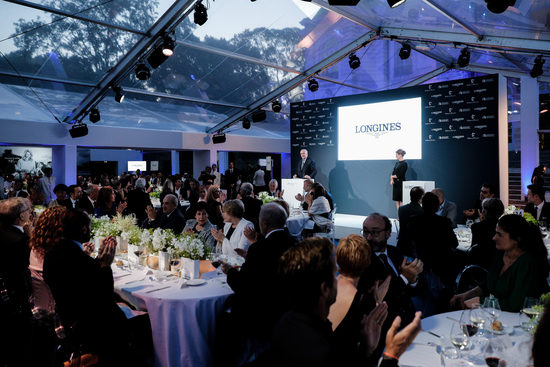 Longines Corporate Event: Longines unveils two exclusive Conquest V.H.P. models to mark ten years of its partnership with  Stefanie Graf and Andre Agassi 13
