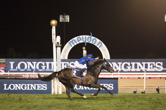 Longines Flat Racing Event: Arrogate, the 2016 Longines World's Best Racehorse, won the Dubai World Cup 6
