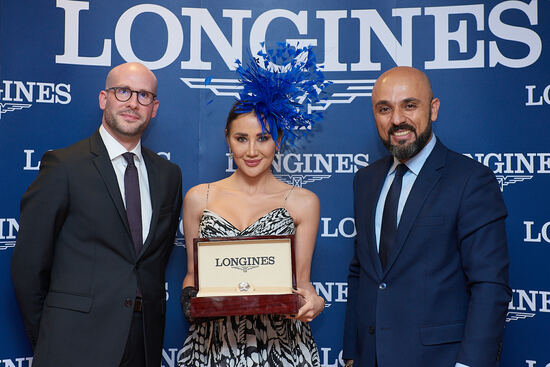 Longines Flat Racing Event: Swiss watch brand Longines honours the winners of  the Longines Dubai Sheema Classic 4