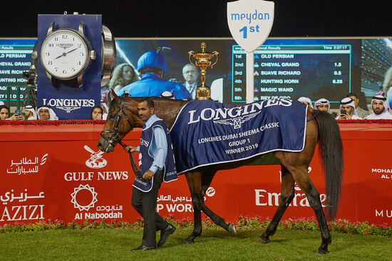 Longines Flat Racing Event: Swiss watch brand Longines honours the winners of  the Longines Dubai Sheema Classic 5