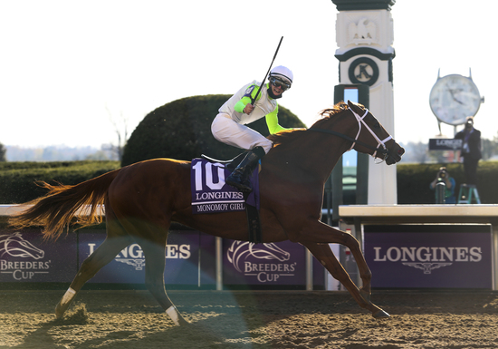 Longines Flat Racing Event: Authentic raced into victory at the 2020 Longines Breeders Cup Classic 3
