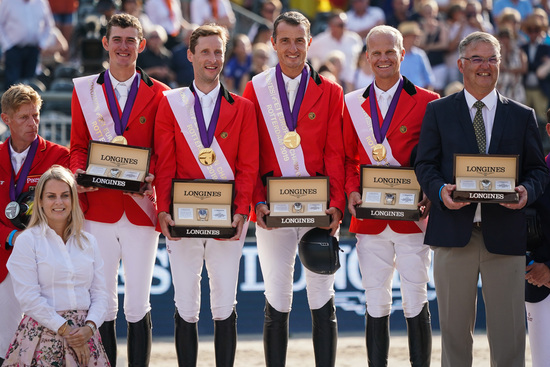 Longines Show Jumping Event: One week of captivating competitions and exceptional performances at the Longines FEI European Championships 2019 3