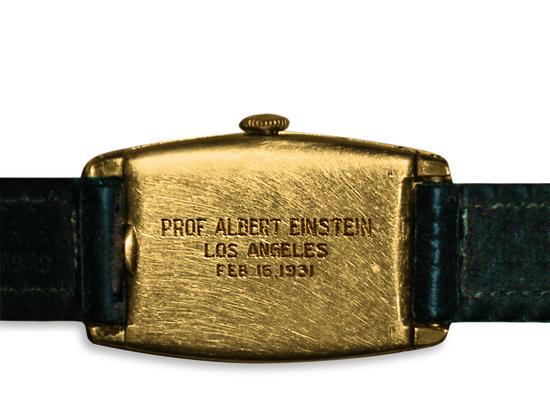 Longines Corporate Event: Albert Einstein's Longines watch fetches a record price at auction 2