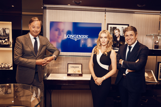 Longines Corporate Event: Kate Winslet launches the exclusive Flagship Heritage by Kate Winslet timepiece to be auctioned online 5