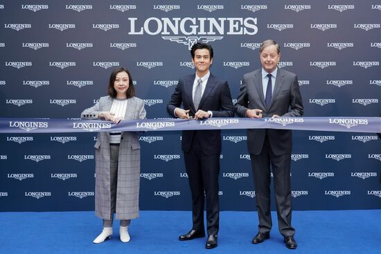 Longines Corporate Event: Grand opening of Longines Flagship Boutique and Super Heritage Corner in Macau S.A.R., China in presence of Eddie Peng 5