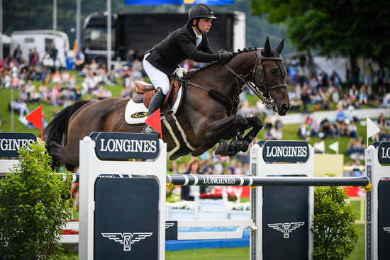 "Longines Equestrian Event: Bertram Allen (Ireland) is the winner of the ""Longines Grand Prix der Schweiz"" in St. Gallen 2"