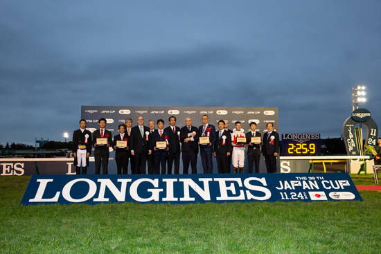 Longines Flat Racing Event: Suave Richard galloped to victory in the 2019 edition of the Japan Cup in association with Longines 6