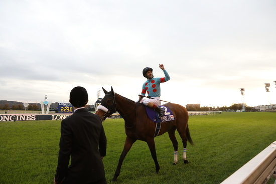 Longines Flat Racing Event: Almond Eye wins the 2020 Japan Cup in association with Longines  3