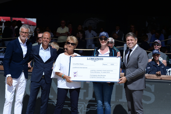 "Longines Show Jumping Event: Wouter Devos (BEL) is the winner of the ""Longines Grand Prix"" in Crans-Montana 5"