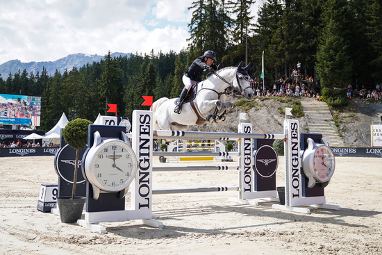 Longines Show Jumping Event: After four days of captivating competitions, Piergiorgio Bucci (ITA) won the Grand Prix Longines in Crans-Montana 1