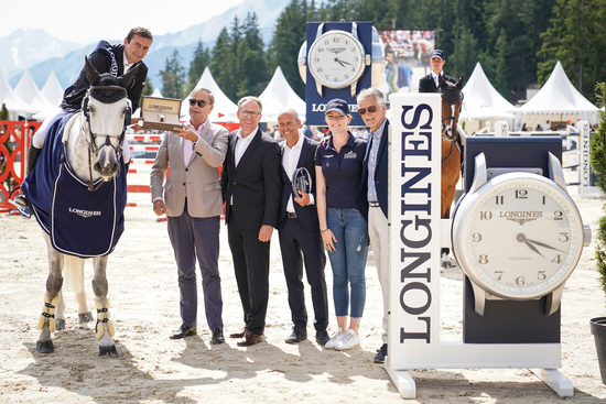 Longines Show Jumping Event: After four days of captivating competitions, Piergiorgio Bucci (ITA) won the Grand Prix Longines in Crans-Montana 2