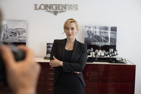 Longines Corporate Event: Longines honoured to welcome Ambassador of Elegance Kate Winslet to Saint-Imier  6