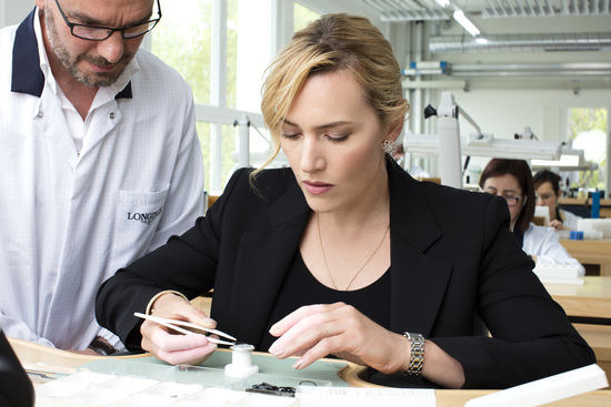 Longines Corporate Event: Longines honoured to welcome Ambassador of Elegance Kate Winslet to Saint-Imier  2
