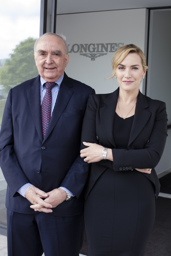 Longines Corporate Event: Longines honoured to welcome Ambassador of Elegance Kate Winslet to Saint-Imier  4
