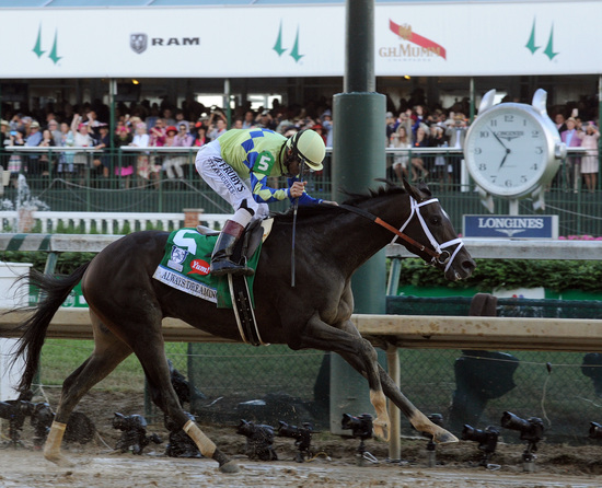Longines Flat Racing Event: The 143rd Kentucky Derby marked by the victory of Always Dreaming 2